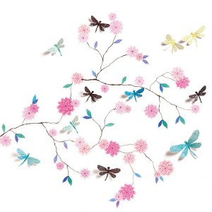 05000-Dragonflies-tree-3D-wall-sticker-1