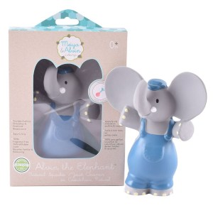78313- Alvin the Elephant All Rubber Squeaker 16cm αντίγραφο