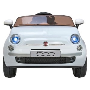 GLOBO 38349 Electric car FIAT500 white 5