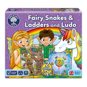 ORCHARD 059 FAIRY SNAKES AND LADDERS