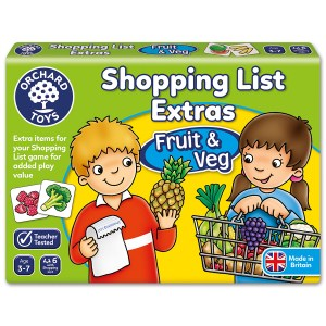 ORCHARD SHOPPING LIST EXTRAS FRUIT AND VEG 090