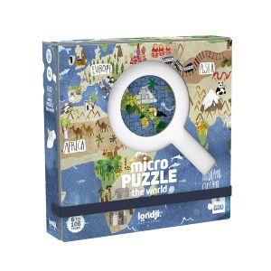 PZ201 MICROPUZZLE DISCOVER WORLD